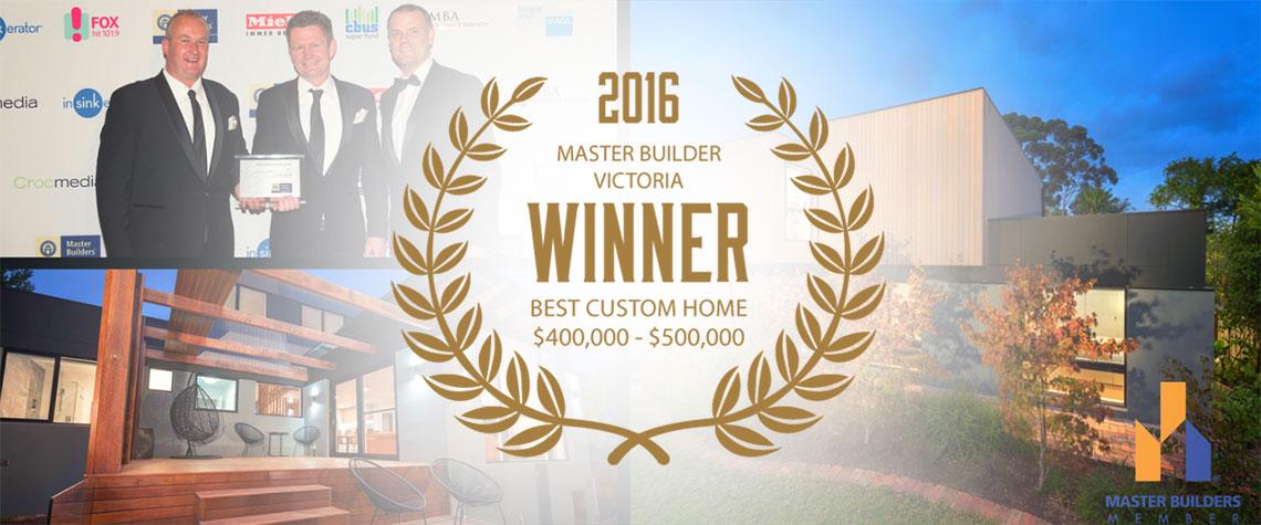 Corrben Homes Award Winners